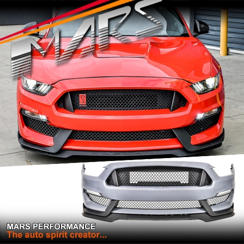 Shelby Gt350 Style Front Bumper Bar Body Kits For Ford Mustang Fm