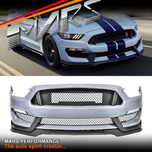 shelby gt350 style front bumper bar body kits for ford. Black Bedroom Furniture Sets. Home Design Ideas