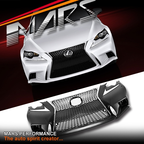 ISF Style Grill & Front Bumper bar for Lexus IS200T IS250