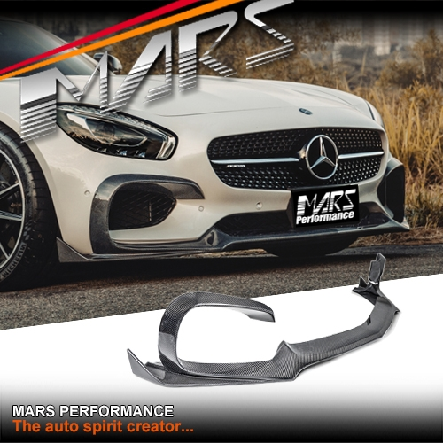 Renntech Style Carbon Fibre Front Bumper bar Lip Spoiler for