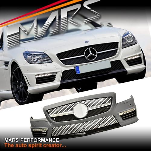 Amg Slk55 Style Front Bumper Bar For Mercedes Benz Slk
