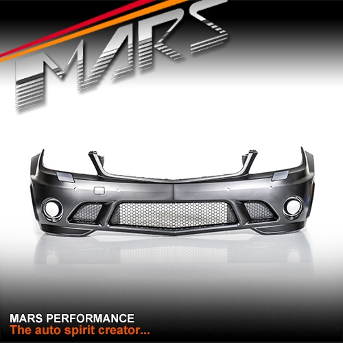 AMG C63 Style Front Bumper Bar for Mercedes-Benz C-Class
