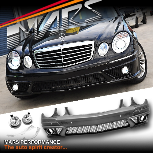 Used Mercedes Parts >> AMG E63 Style Front Bumper Bar for Mercedes-Benz E-Class ...