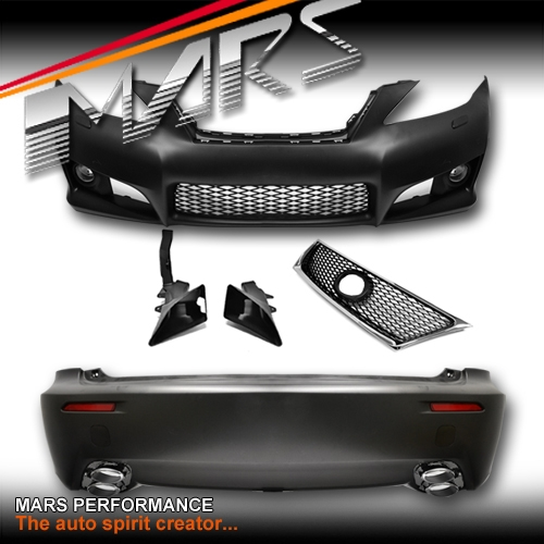 ISF Style Grill & Front & Rear Bumper bar with Fog Lights