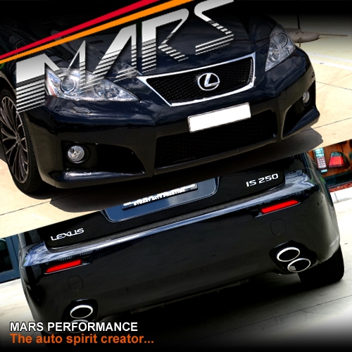 For Sale Lexus Is250: ISF Style Grill & Front & Rear Bumper Bar With Fog Lights