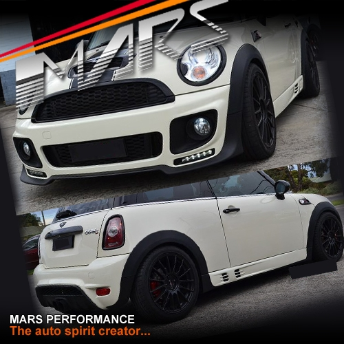Mini Cooper Models >> JCW Style Grill & Front & Rear Bumper bar & Side Skirts ...