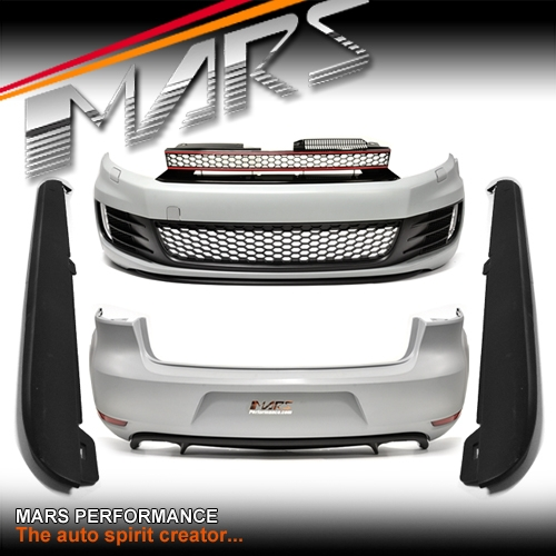 Gti Style Front Amp Rear Bumper Bar Amp Side Skirts For