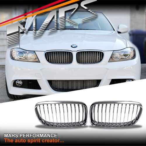 Bmw M3 Engine For Sale Australia: Chrome Silver M3 Style Front Grille For BMW E90 Sedan