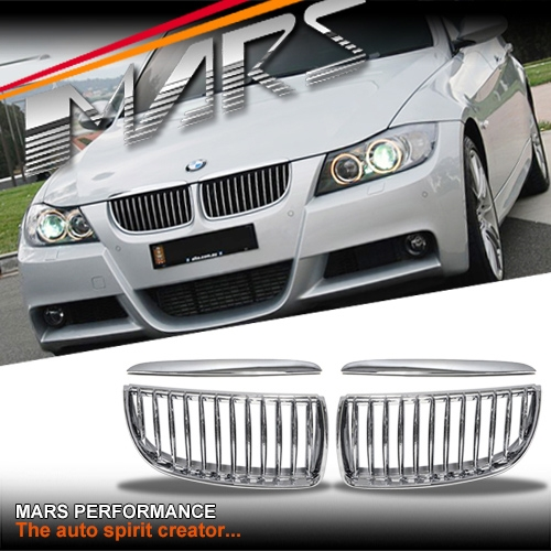 Bmw M3 Engine For Sale Australia: Chrome Silver M3 Style Front Bumper Bar Kidney Grille For