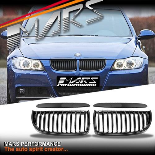 Bmw M3 Engine For Sale Australia: Gloss Black M3 Style Front Kidney Grille For BMW E90 Sedan