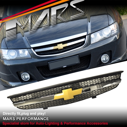 chervolet front grill for holden commodore vz executive. Black Bedroom Furniture Sets. Home Design Ideas