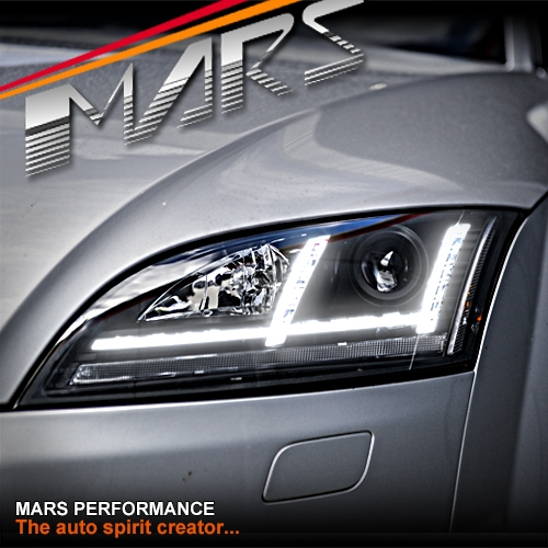 Audi TT 8J Super White Xenon HID Upgrade Parking Beam Side Light Headlight Bulbs