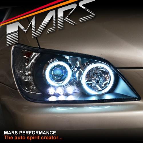 Lexus Is300 For Sale: Black CCFL Angel-Eyes Projector Head Lights For Lexus