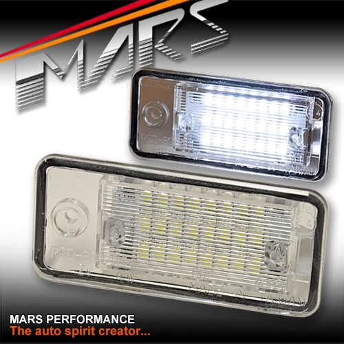 Super Bright SMD Trunk Number Plate Lights For AUDI A3 S3