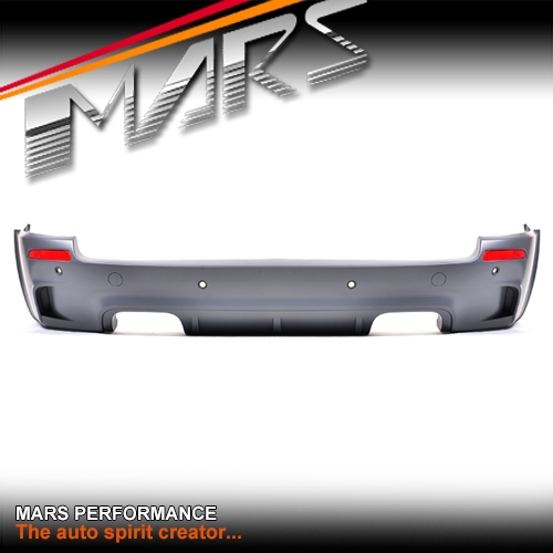X5M Style Rear Bumper Bar with Twin exhaust Outlet for BMW