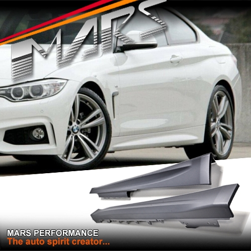 BMW M Sports Style Side Skirts For 4 Series F32 2 Doors