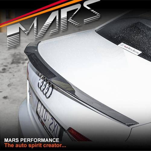 Audi A4 Ultrasport For Sale: MARS Performance Carbon Fibre Rear Trunk Lip Spoiler For