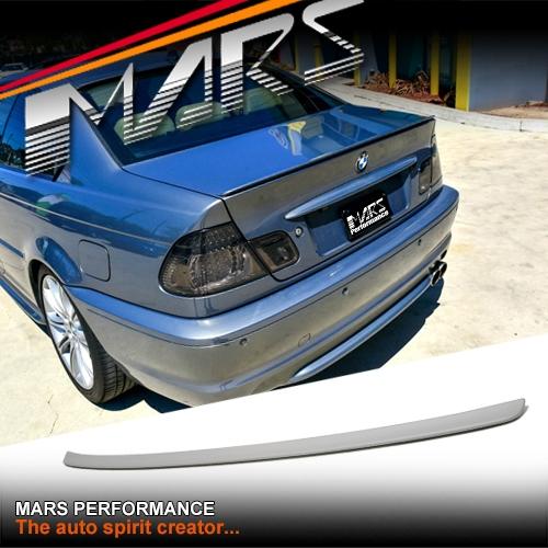Bmw M3 Engine For Sale Australia: M3 Style ABS Plastic Rear Trunk Lip Spoiler For BMW E46
