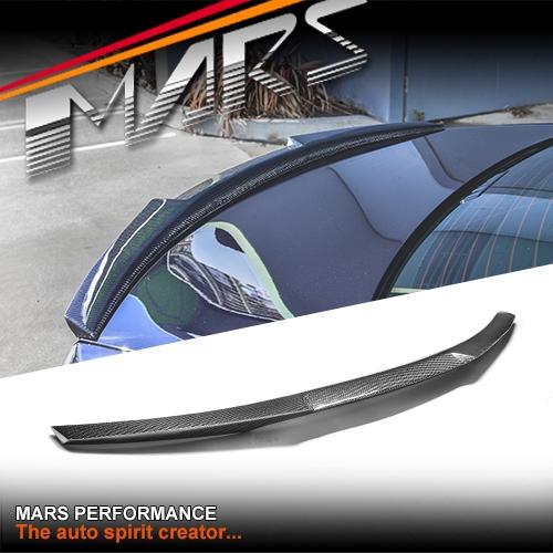 Bmw F82 M4 Style Carbon Fibre Rear Trunk Lip Spoiler For Bmw E92 Coupe Inlcude E92 M3 Mars