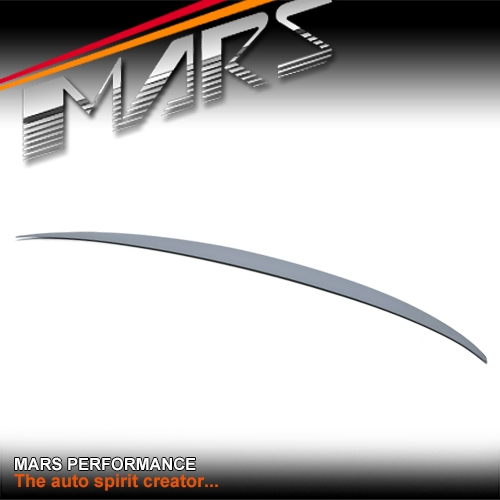 M Performance Style ABS Plastic (Unpainted) Rear Trunk Lip