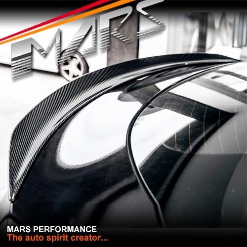 Edition 1 Style Carbon Fibre Rear Trunk Boot Spoiler Lip