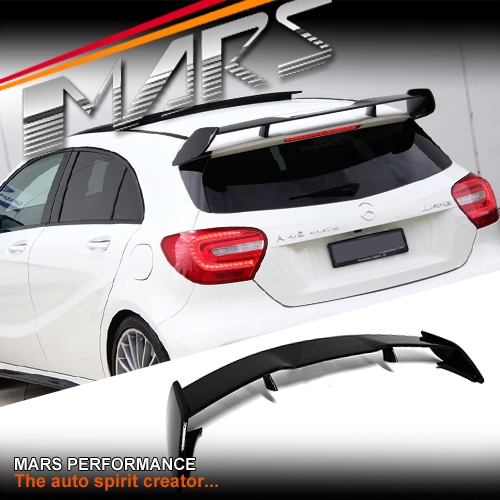Gloss Black Abs Plastic Amg A45 Style Rear Roof Spoiler
