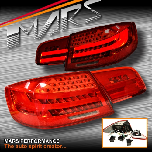 m3 lci style 3d stripe bar led tail lights for bmw 3. Black Bedroom Furniture Sets. Home Design Ideas