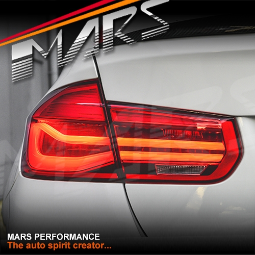 Full Red Lci Style Tail Lights With Led Indicators For Bmw