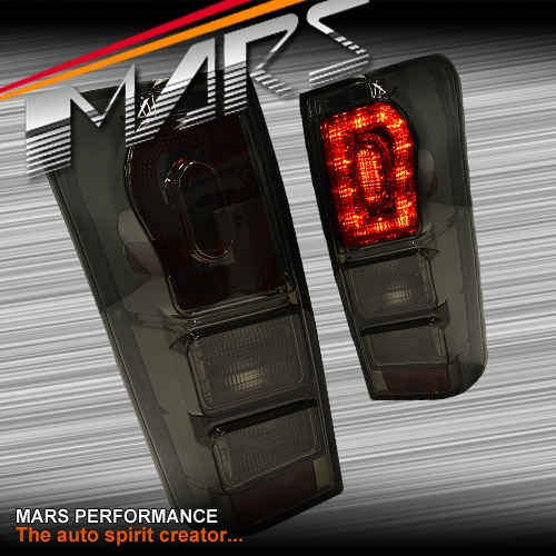 Smoked Black LED Tail Lights For Isuzu D-Max UTE 2012-2020
