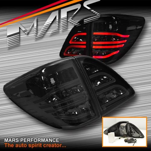 Mazda Speed 3 >> Smoked Black 3D Stripe Bar LED Tail Lights for MAZDA BT-50 ...