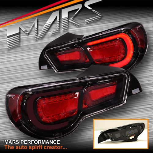 Toyota Factory Warranty >> TOM'S Full LED Tail lights for Toyota 86 GT GTS & Subaru