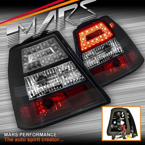 Black LED Tail lights for VolksWagen Bora & Jetta 98-04 ...
