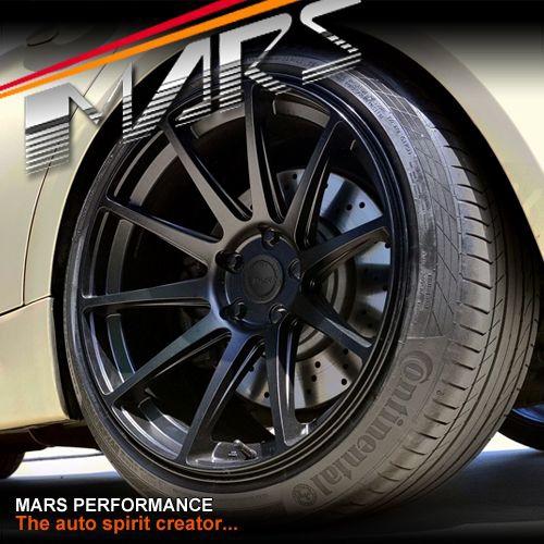 Mars Mp Ms Matt Black 4x 19 Inch Deep Concave Stag Alloy