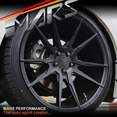 mars mp rh 19 inch matt black 4x 19 inch deep concave stag alloy wheels rims 5x100 mars. Black Bedroom Furniture Sets. Home Design Ideas